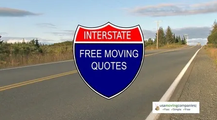 """Freeway sign that reads """"Free Interstate Quotes"""""""